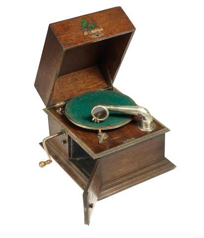 A rare Exophone gramophone,