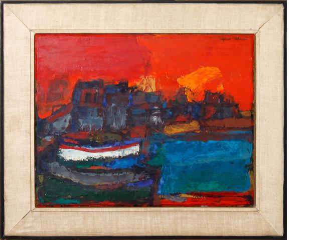 Alfred Cohen (American, 1920-2001) Walmer Life-Boat
