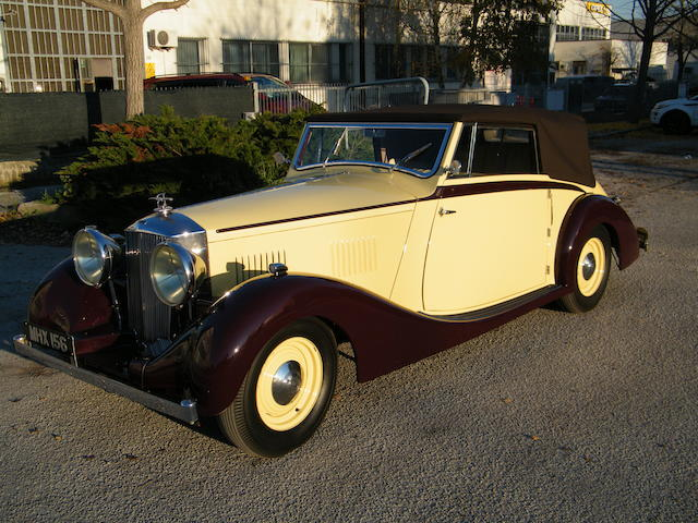 1938 Railton Straight EIght Fairmile Series III Three Position Drophead Coupe