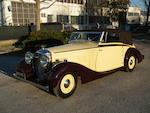 1939 Railton Eight Fairmile Drophead Coupé  Chassis no. H745376 Engine no. 31343