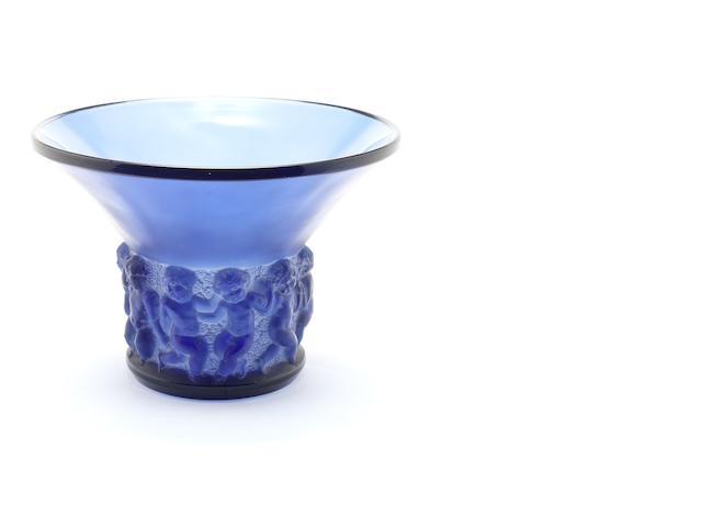 René Lalique 'Farandole' a Vase, design 1930