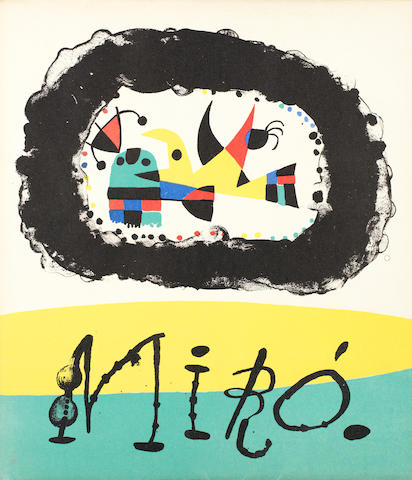 Joan Miró (Spanish, 1893-1983) Book Jacques Prevert, 235 x 205mm (9 1/4 x 8 1/8in)(Vol)