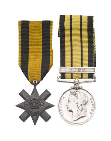 Pair to Surgeon Captain E.C.Corcoran, Army Medical Service,