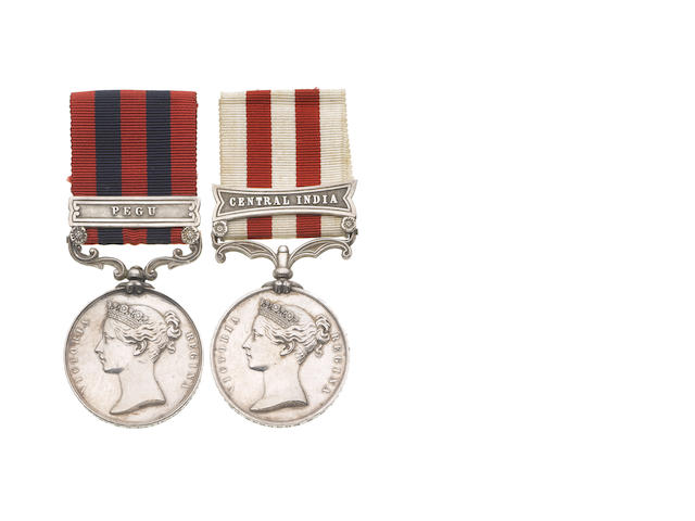Pair to Superintendent Surgeon W.G.Davidson,