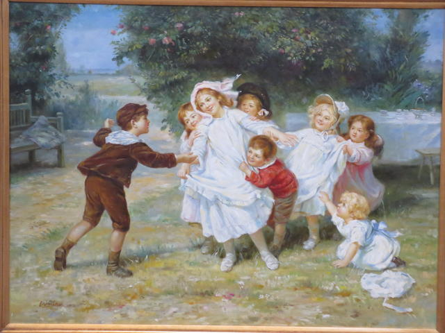 English School, 20th Century Children at Play