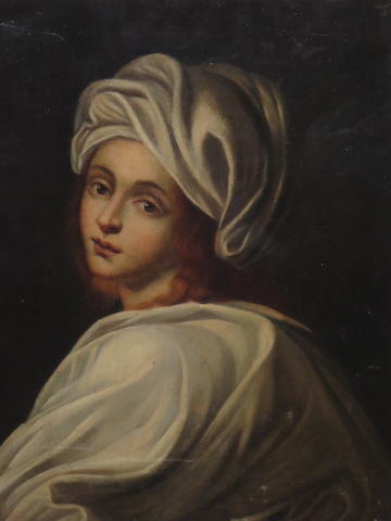 Dutch School Head of a Girl