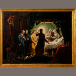 19th Century English School Christ healing Jairus