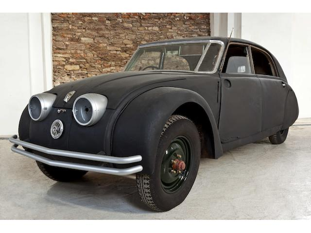 1936  Tatra  T77A berline   Chassis no. 23038 Engine no. 201538