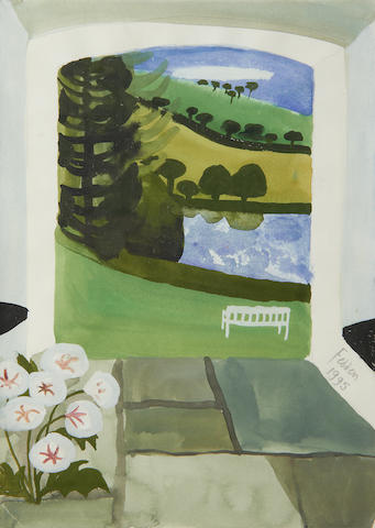 Mary Fedden R.A. (British, 1915-2012) Cornish view