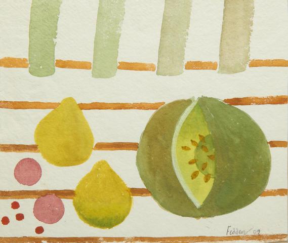 Mary Fedden R.A. (British, 1915-2012) Still life of fruit