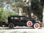 1931 Packard Standard Eight 833 Limousine  Chassis no. 324011