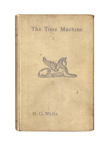 WELLS (H.G.) The Time Machine, FIRST EDITION, 1895