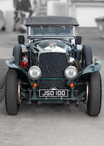 1929 Bentley 6½-Litre Speed Six tourer  Chassis no. BA2580 Engine no. BA2584