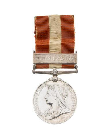 Canada General Service Medal 1866-70,