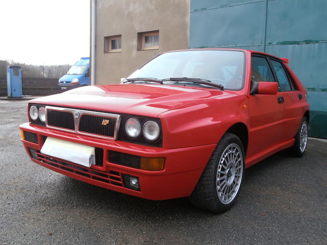 1993  Lancia  Delta HF Integrale Evoluzione II berline  Chassis no. ZLA831AB000581276