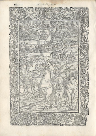 ARIOSTO (LUDOVICO) Orlando Furioso, 1572; and an incomplete edition of 1573 (2)