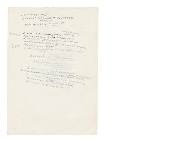 LOWELL, ROBERT (1917-1977, American Poet)