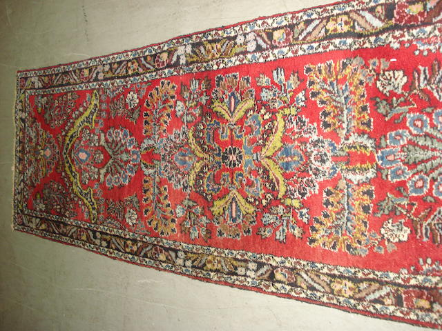 A long and narrow Lillihan runner, West Persia, 935cm x 86cm