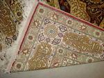 A Kayseri silk rug, West Anatolia, 164cm x 98cm
