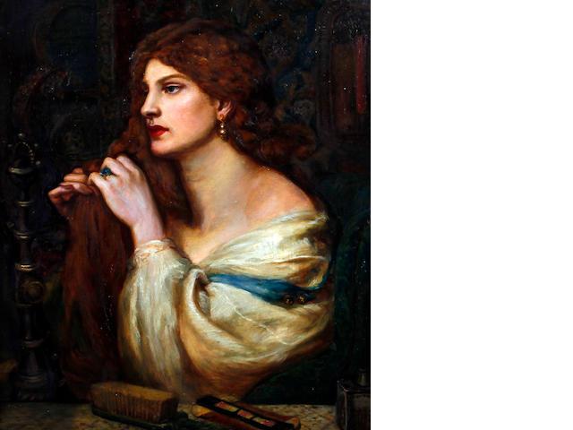 After Dante Gabriel Rossetti 'Aurelia (Fazio's Mistress)'