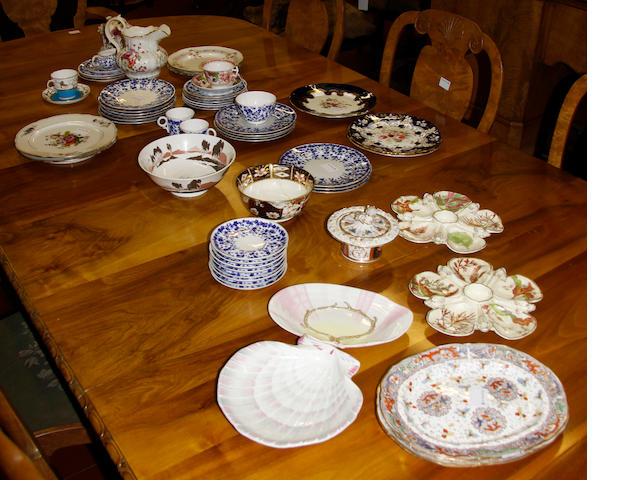 A mixed quantity of ceramics