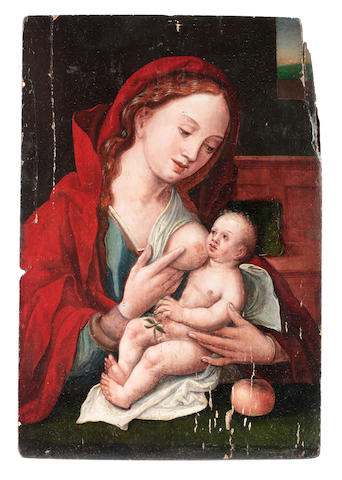 Circle of Pieter Coecke van Aelst the Elder (Aelst 1502-1550 Brussels) The Madonna and Child