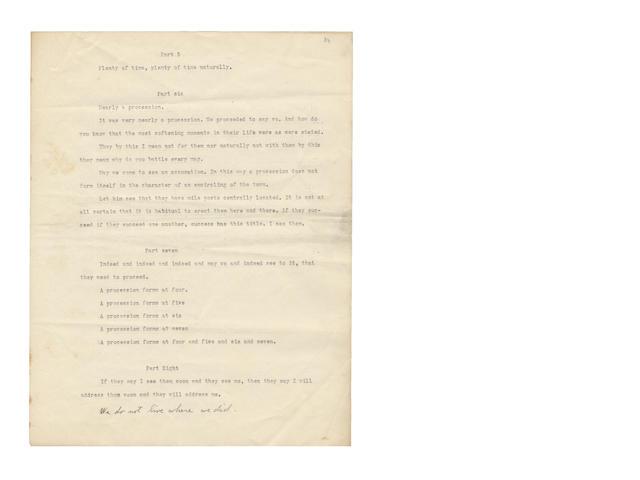 STEIN, GERTRUDE (1874-1946, American novelist and poet)