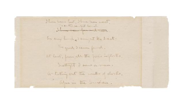STEVENSON, ROBERT LOUIS (1850-1894, Scottish poet and novelist)