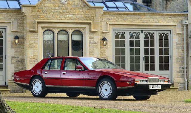 1985 Aston Martin Lagonda Saloon  Chassis no. SCFDLO1S4FTL13439 Engine no. V/580/3439