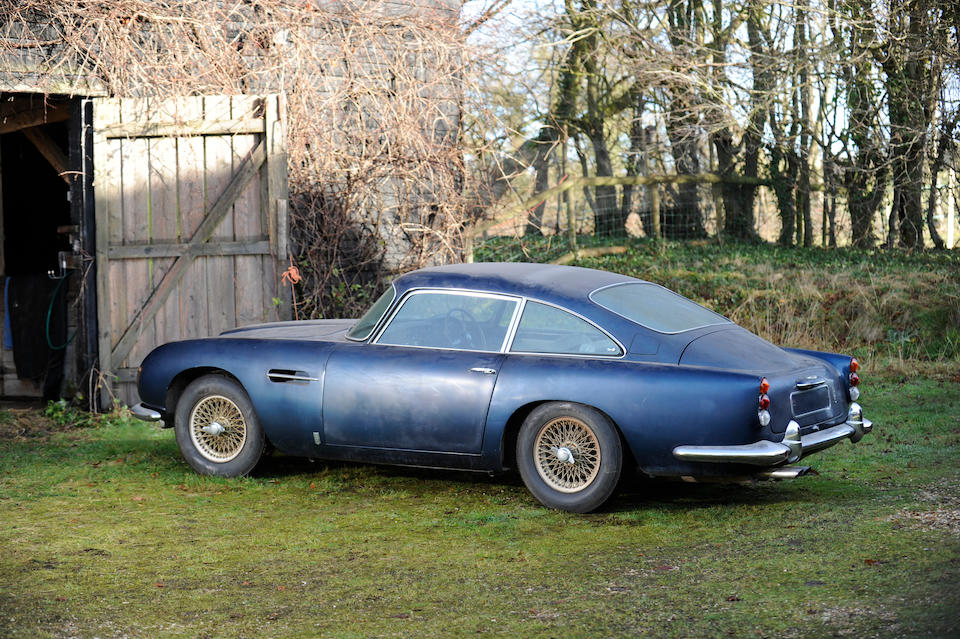 By order of the executors of David Francis Ettridge deceased Barn Discovery, 47,226 miles, last MoT 1979 ,1964 Aston Martin DB5 Sports Saloon  Chassis no. DB5/1760R Engine no. 400/1749