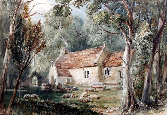 Charles Davidson (British, 1824-1902) 'Perranporth, Cornwall'