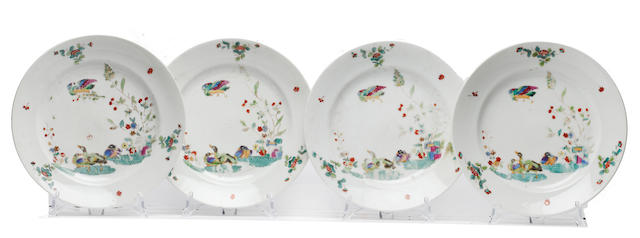 A French porcelain part service, 19th century