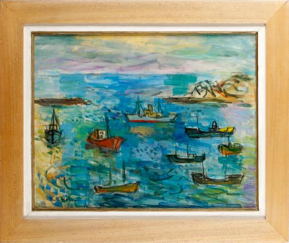 Keith Baynes (British, 1887-1977) St Jean de Luz