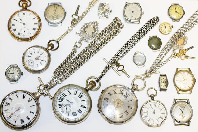 A collection of watches,