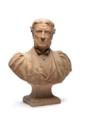 ARNOLD, MATTHEW (1822-1888) PORTRAIT BUST BY WILLIAM TYLER R.A., [c.1889]