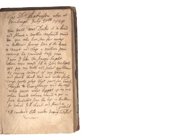 RAMSAY, ALLAN (1684-1758, Scottish poet)