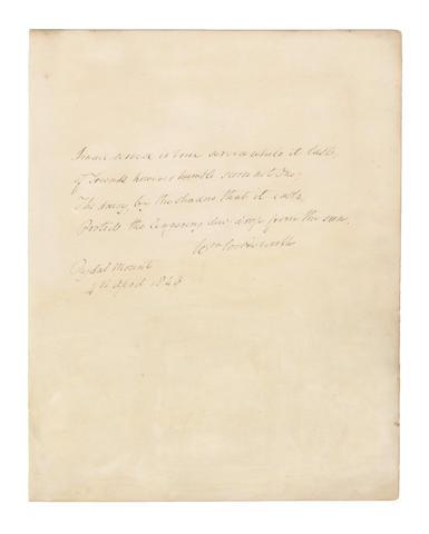 WORDSWORTH, WILLIAM (1770-1850)