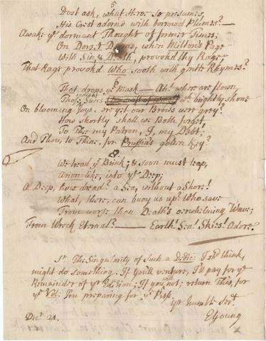 YOUNG, EDWARD (1681-1765)