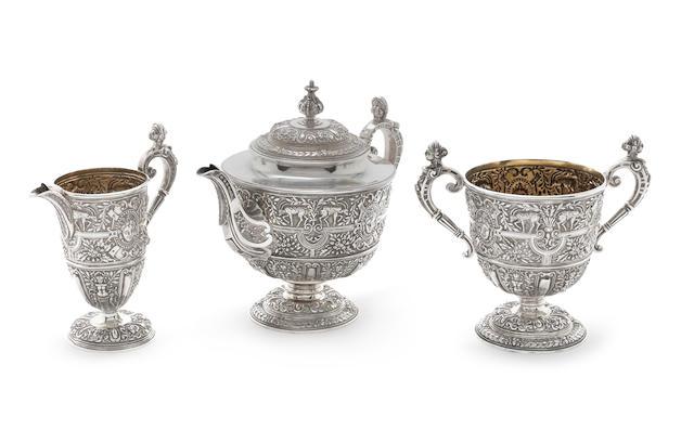 Bonhams : A Victorian silver