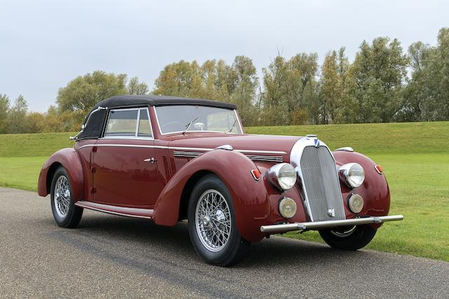 1947 Talbot Lago T26 Record Cabriolet   Chassis no. 100058