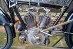 1905 Peugeot 500cc 3 1/2 HP V-twin Frame no. 9382 Engine no. 12242