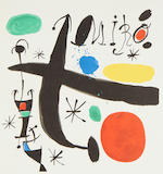 Joan Miró (Spanish, 1893-1983) Les Essències de la terra signed in pencil and numbered 451 on the justification, published by Ediciones Poligrafa S.A., Barcelona, printed  (folio)
