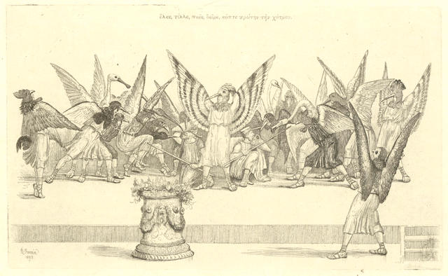 JAMES (MONTAGUE RHODES) FARREN (ROBERT) The Birds of Aristophanes as Performed... at the Theatre Royal Cambridge, 1883-4