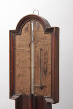 A George III stick barometer Inscribed Yeates Penrith