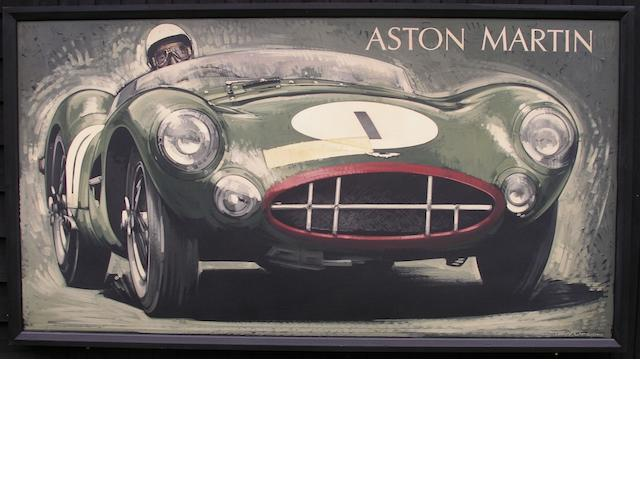 Tony Upson, « Stirling Moss - Aston Martin DBR1 »,