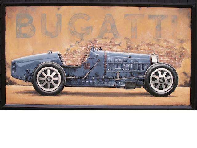 Tony Upson, « Bugatti Type 35 B »,