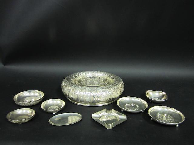 A Malaysian silver posy ring  (9)