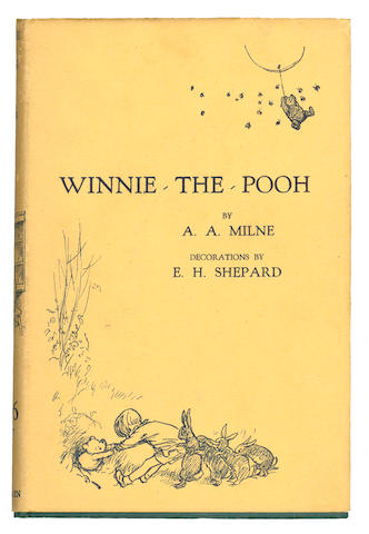 MILNE (A.A.) Winnie-The-Pooh, 1927; and 2 others (3)