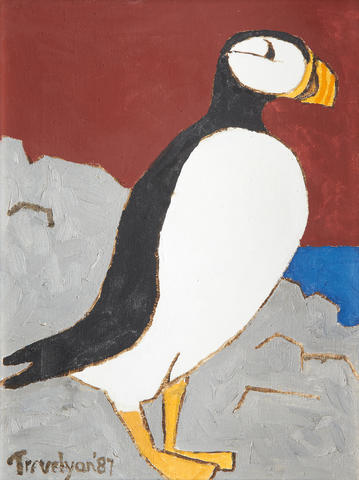Julian Trevelyan R.A. (British, 1910-1988) Puffin