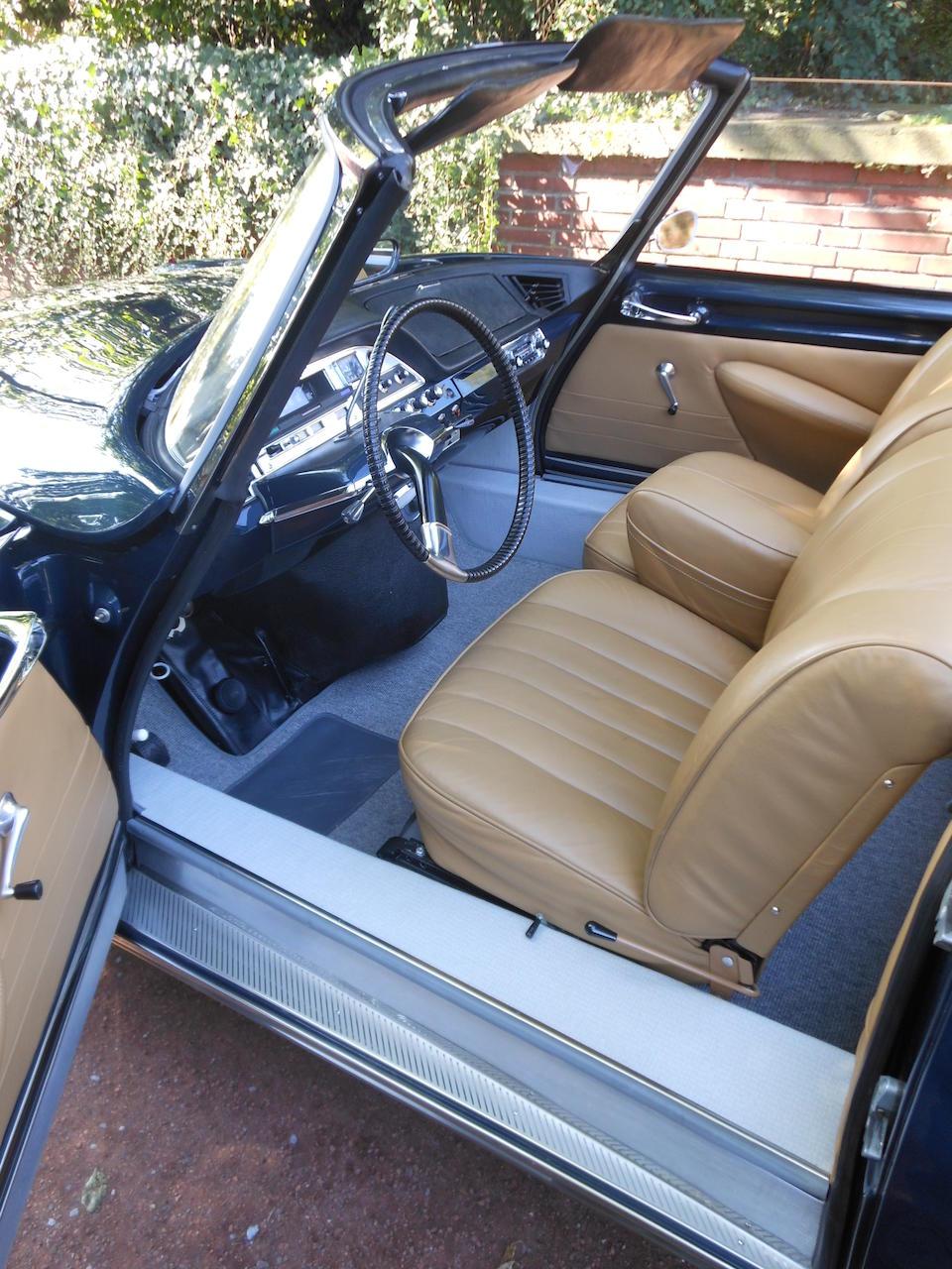 1962 Citroën DS19 Décapotable  Chassis no. à venir Engine no. à venir